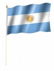 Argentinien Stockfahnen