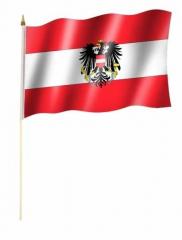 Österreich Stockfahnen