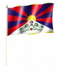 Tibet Stockfahnen
