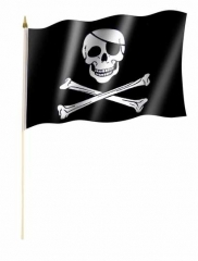 Piratenfahne Stockfahnen