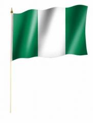Nigeria Stockfahnen