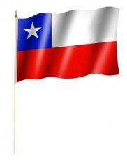 Chile Stockfahnen