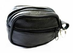 Biker Key Wallet - Black