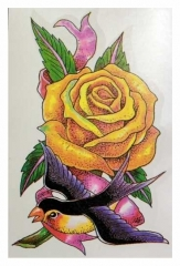 Temporäres Tattoo Vogel