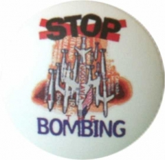 Button Badge Stop Bombing
