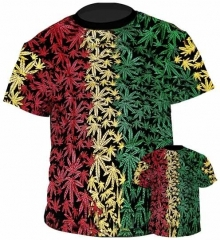 T-Shirt Jamaica Leaf