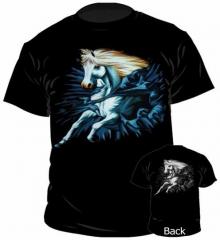 T-Shirt White Horse