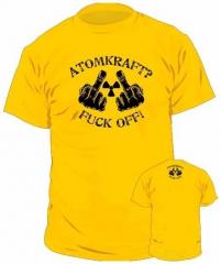 T-Shirt Atomkraft? Fuck Off!