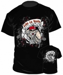 T-Shirt Live To Rock