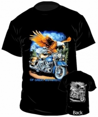 T-Shirt Of Great Motorcycles