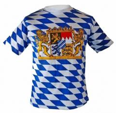 T-Shirt Bayern Wappen