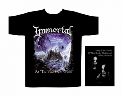 T-Shirt - Immortal - At The Heart Of Winter