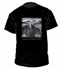Ildjarn/Hate Forest Those Once Mighty Fallen T Shirt