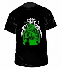 Nunslaughter Green Witch / He is My Guaridan T Shirt