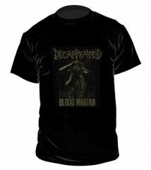 Decapitated Blood Mantra Tour T Shirt