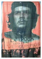 Posterfahne Che Guevara