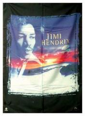 Posterfahne Jimi Hendrix