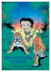 Posterfahne The Jungle Queen