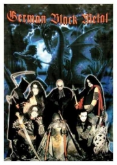 Poster Flag German Black Metal