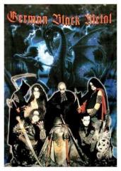 Posterfahne German Black Metal