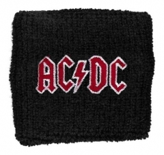 AC/DC Red Logo Merchandise Sweatband