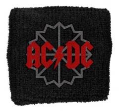 AC/DC Black Ice Logo Merchandise Schweißband