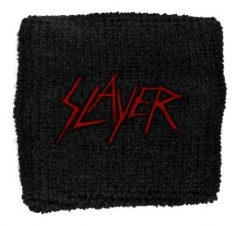 Slayer Scratched Logo Merchandise Schweißband