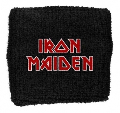 Iron Maiden Red Logo Merchandise Schweißband